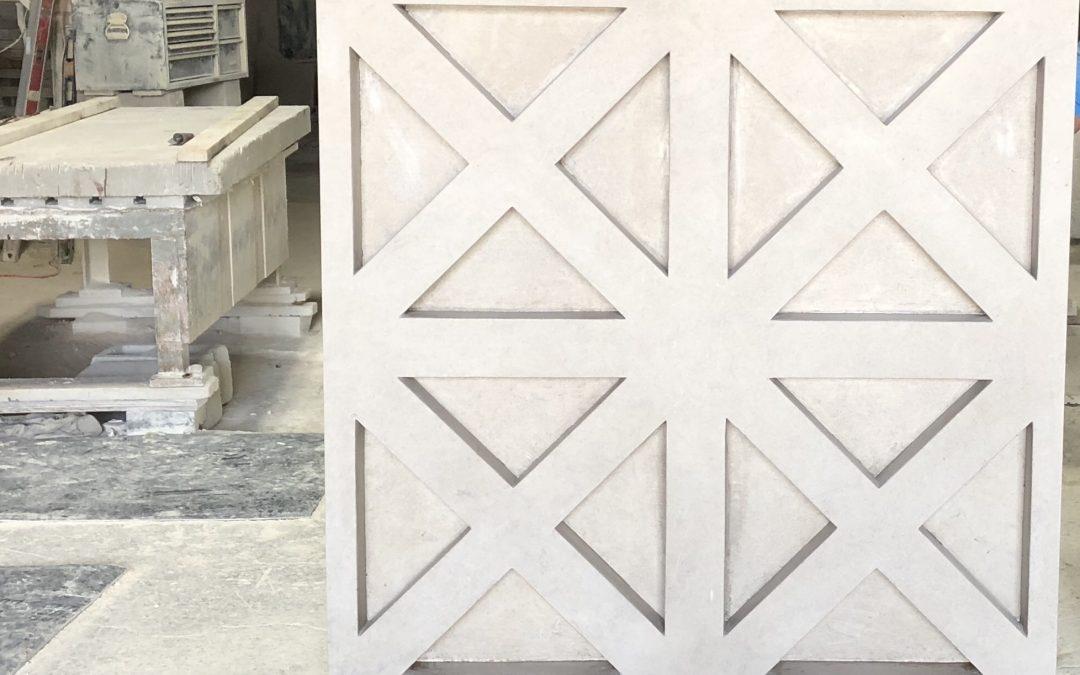Dayton Ohio Masonic Lodge Custom Limestone Piece